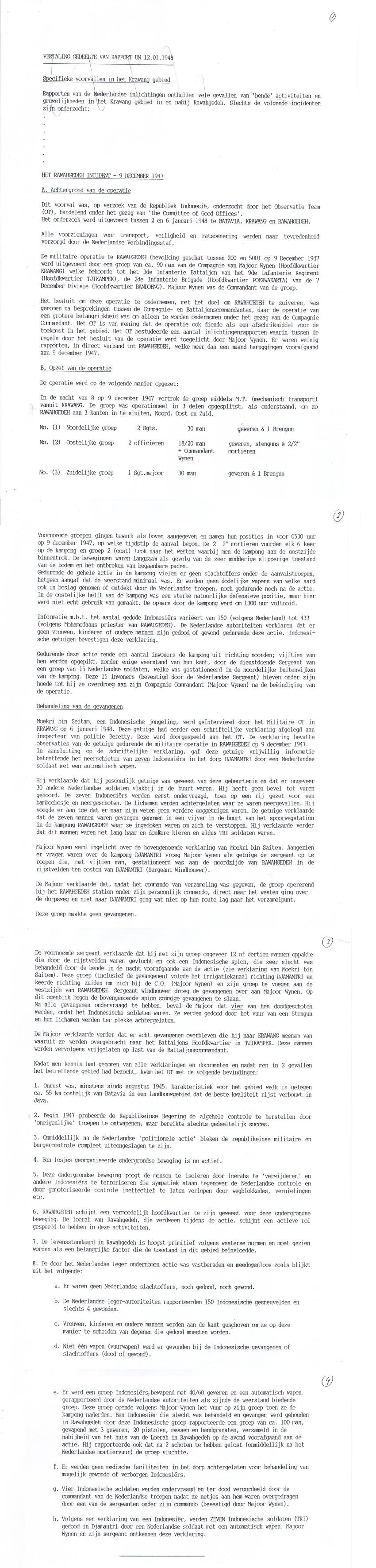 Rapport Commissie van Goede Diensten